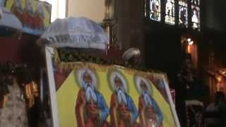 Teaching At Debre Genet Kidiste Selassie Ethiopian Orthodox Tewahedo Church 2013 Pt. 13