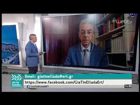 O Κυβερνητικός Εκπρόσωπος Κύπρου, Π. Προδρόμου στον Σπύρο Χαριτάτο | 24/06/2019 | ΕΡΤ