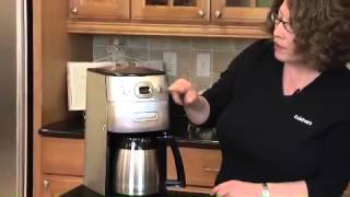 Grind & Brew Thermal™ 10-Cup Automatic Coffeemaker  Demo Video Icon