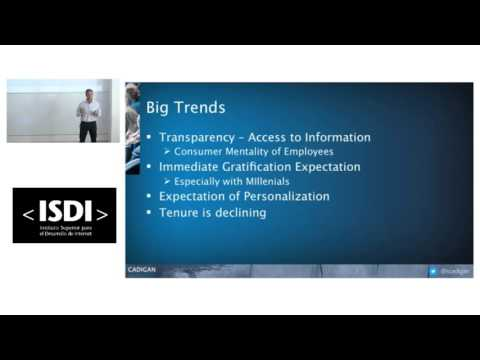 Steve Cadigan Presents How to Build a Winning HR Strategy in the New Digital Reality at ISDI