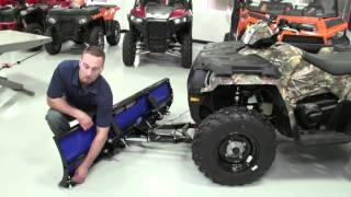8. Glacier® Pro HD Plow System Install ATV | Polaris Off-Road Vehicles