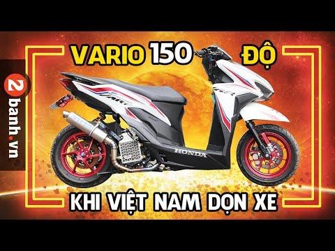 Khi Việt Nam dọn Vario 150 độ | Modifikasi Honda Vario 150 - Thời lượng: 13 phút.