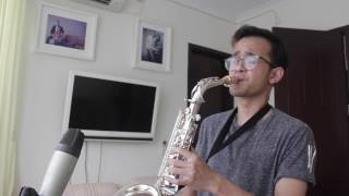 Bruno Mars - Versace on the Floor (Alto Saxophone cover by Christian Ama)