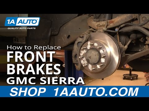 How To Install Replace Front Brakes Chevy Silverado GMC Sierra 2500HD 00-07 1AAuto.com