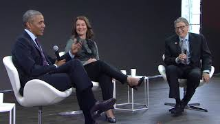 Video A Conversation with Barack Obama, Bill Gates and Melinda Gates #GOALKEEPERS17 MP3, 3GP, MP4, WEBM, AVI, FLV Juni 2018