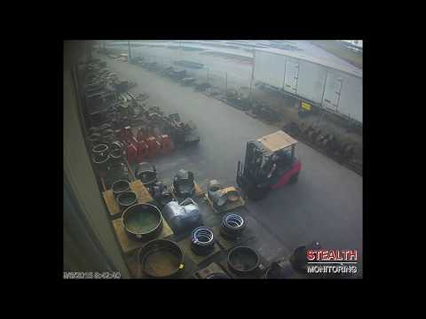 Warehouse Forklift Thief Arrested