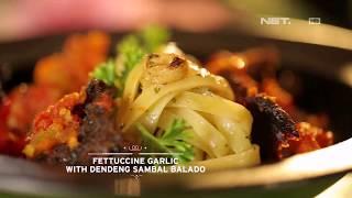 Video Chef's Table - Fettuccine Garlic With Dendeng Sambal Balado MP3, 3GP, MP4, WEBM, AVI, FLV November 2017