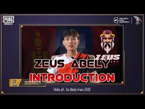 Zues Abely Introduction | Zeus Esport | PMGC 2020