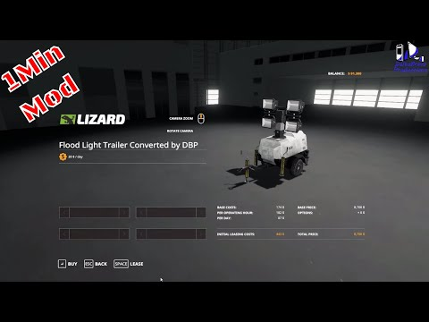 Lizard Floodlight Trailer v1.1 Edit By Deltabravo Productions