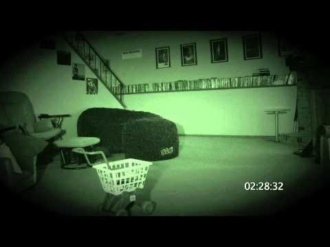 durante una registrazione notturna, guardate cosa succede!brividi
