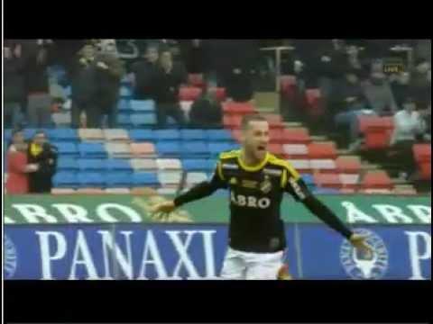 Alexander Milosevic Årets Mål Allsvenskan 2012