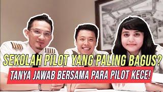 Video PILOT DIARY VLOG - Tanya Jawab Bersama Selebgram Pilot Ganteng Dan Pilot Cantik MP3, 3GP, MP4, WEBM, AVI, FLV Juni 2019
