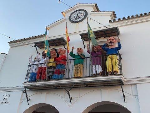 Desfile Gigantes y Cabezudos-Apertura de las Fiestas Patronales de La Redondela 2019.