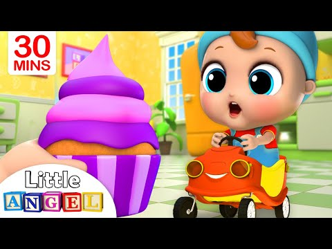 Yum Yum, Cupcakes! | Little Angel Nursery Rhymes and Kids Songs