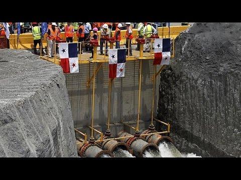 Παναμάς: Ξεκίνησε η ροή υδάτων στο δεύτερο τμήμα της διώρυγας