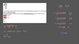 Resolução da questão 43, da prova do Vestibular da UERJ, primeiro exame de qualificação, para o ano letivo de 2015 Prova objetiva Física Gases ideais Equação...