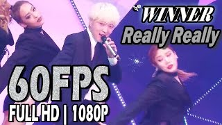 Download Lagu 60FPS 1080P | WINNER(위너) - Really Really, Show! Music Core 20170408 Mp3