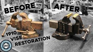 Video Vise Restoration | 1910 Chas Parker 205-P MP3, 3GP, MP4, WEBM, AVI, FLV Maret 2019