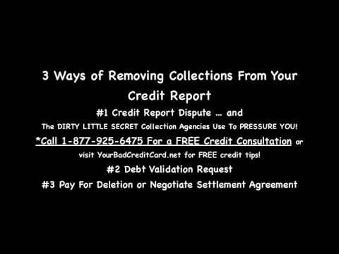 3 Ways of Removing Collections From Credit Report Today Mortgage