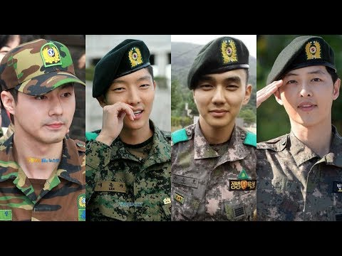 Military Service of Korean Actors Enlistment will Shock You!