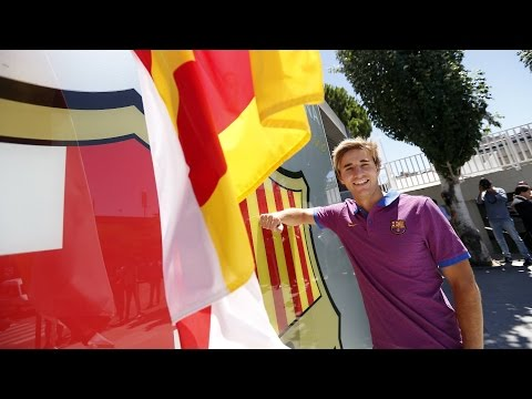 Sergi Samper Extends Contract With FC Barcelona Until 2019