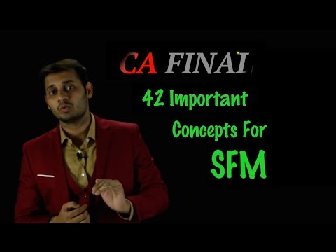 CA Final SFM Important Concepts for SFM to cover 70-80% Marks in May 2016 Exam (видео)