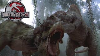 Did the Spino Kill the Baby Rex? - JP3 Rex - Jurassic World Chaos Theory