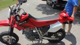8. Honda XR400R Supermoto