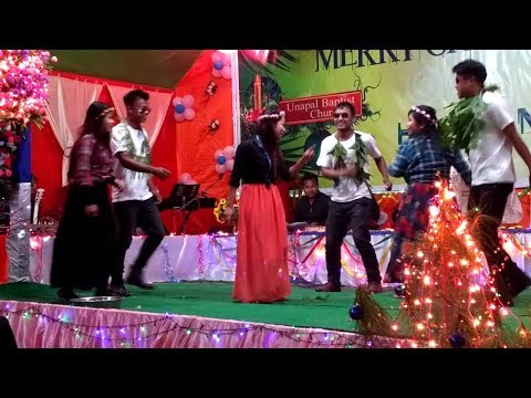 2017 Merry Christmas Unapal Village--  ISIAH Group Dance.