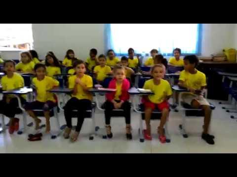 Comemoração da Páscoa com as crianças da musicalização