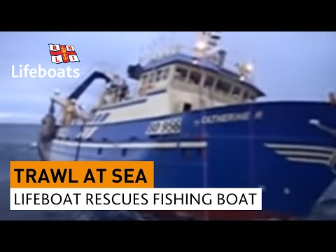 arranmore lifeboat rescues fishing vessel in rough seas orca fishing
