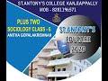 Plus Two Sociology Class - 6 Anitha Gopalakrishnan