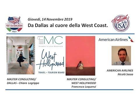 Video Da Dallas al cuore della West Coast.(14-11-19)