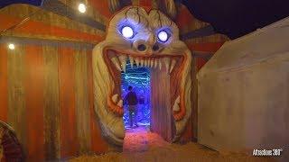 CIRCUS Haunted House Walk Through - Queen Mary's Dark Harbor Halloween 2019