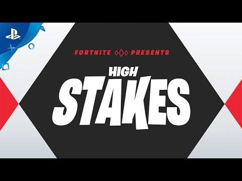 Fortnite - High Stakes Returns | PS4 - Thời lượng: 34 giây.