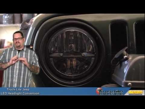 Truck-Lite LED Headlight Conversion for the Jeep Wrangler