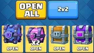 OPENING ALL MY ''INCREDIBLE'' CHESTS! :: Clash Royale :: SUPER MAGICAL CHEST & EPIC CHEST OPENING!