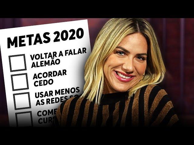 METAS DA GIOH PARA 2020! - Giovanna Ewbank