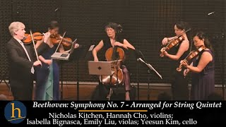 Nonton Heifetz 2017  Beethoven   Symphony No  7 For String Quintet  Film Subtitle Indonesia Streaming Movie Download