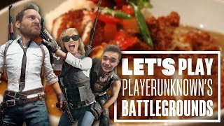 Let's Play PUBG gameplay with Aoife, Chris and Ian: Katsu Chicken Curry?