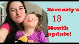 Serenity's 16 month update https://youtu.be/f1J9lBTA2KsSerenity's 1 month update https://youtu.be/NHn1nQSL-VA