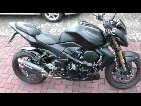 Kawasaki Z750R Special Edition Black Matt 2012 With Akrapovic Street