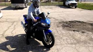 2. 2001 Yamaha R6 Test Ride