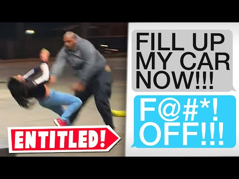 r/entitledparents   Entitled Parent goes off at the Gas Station