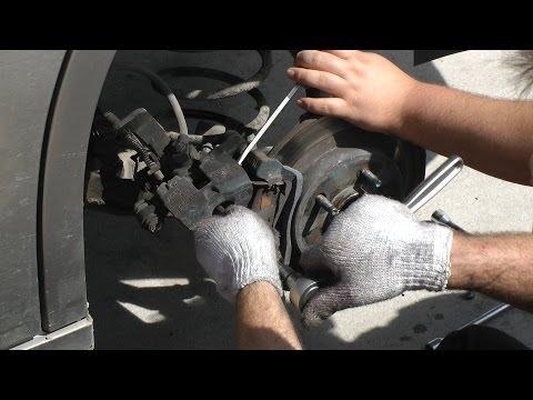 Rear Brake Pad Replacement (Pontiac Bonneville)