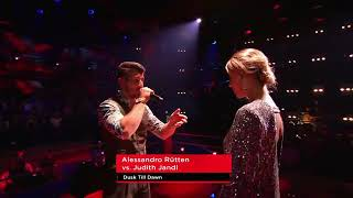Video ZAYN - Dusk Till Dawn (Alessandro Rütten vs. Judith Jandl ) Battles The Voice Germany 2018 MP3, 3GP, MP4, WEBM, AVI, FLV Januari 2019