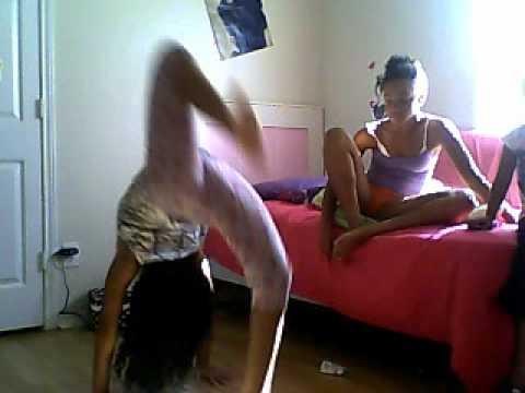 another stupid and retarted gymnastics video