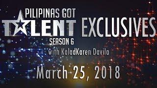 Video Pilipinas Got Talent Season 6 Exclusives - March 25, 2018 MP3, 3GP, MP4, WEBM, AVI, FLV Oktober 2018