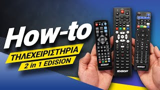 How To  - EDISION IR remote control 2in1