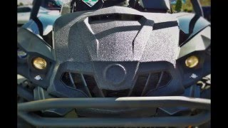 9. 2014 Can-Am Commander XT-P Police Issued, Rhino Lined